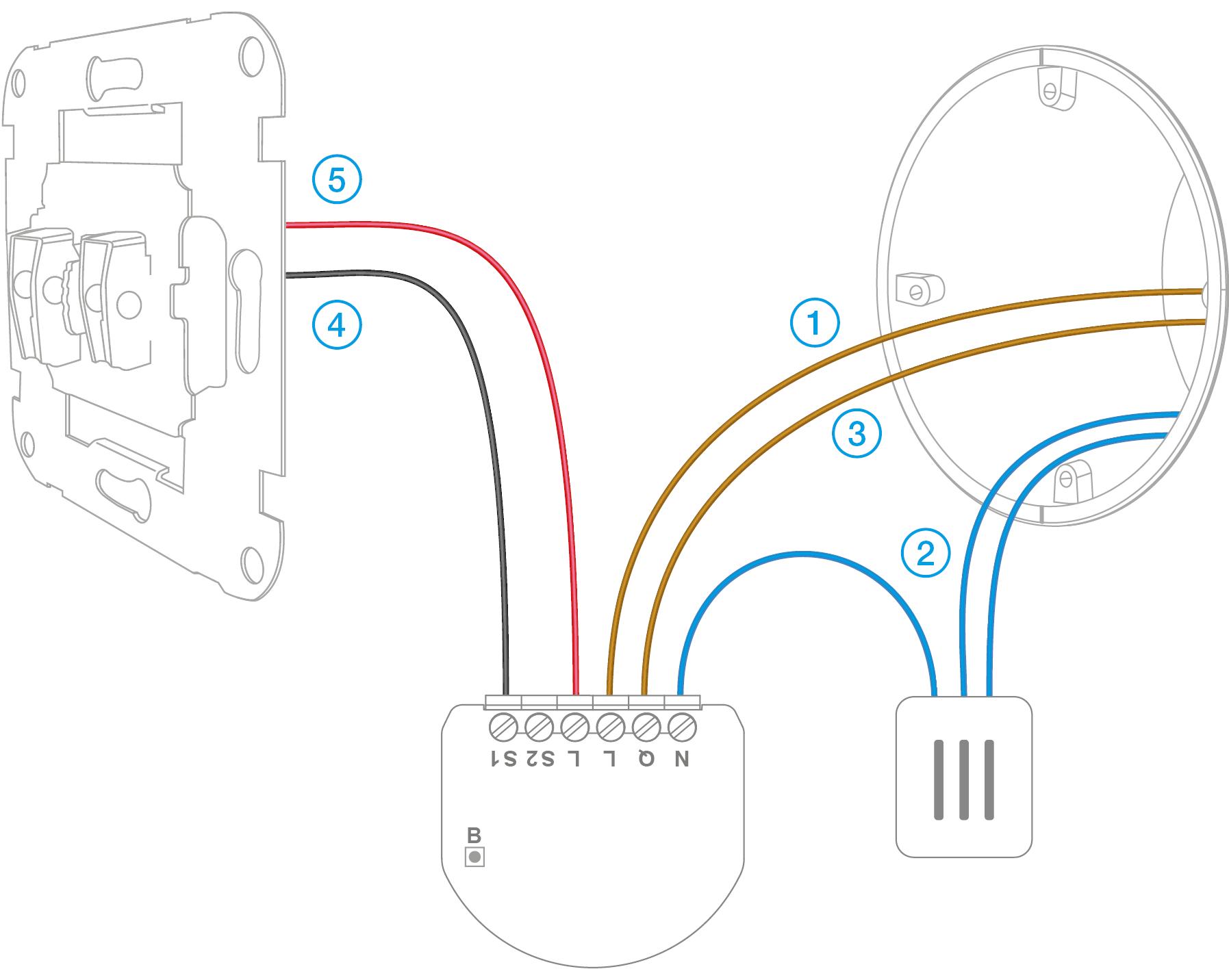 Single Switch Wiring Diagram Just Another Blog Pole Light Fibaro And Neutral Lacking Installation Mysmarthomekit Rh Eu Double Throw Rocker