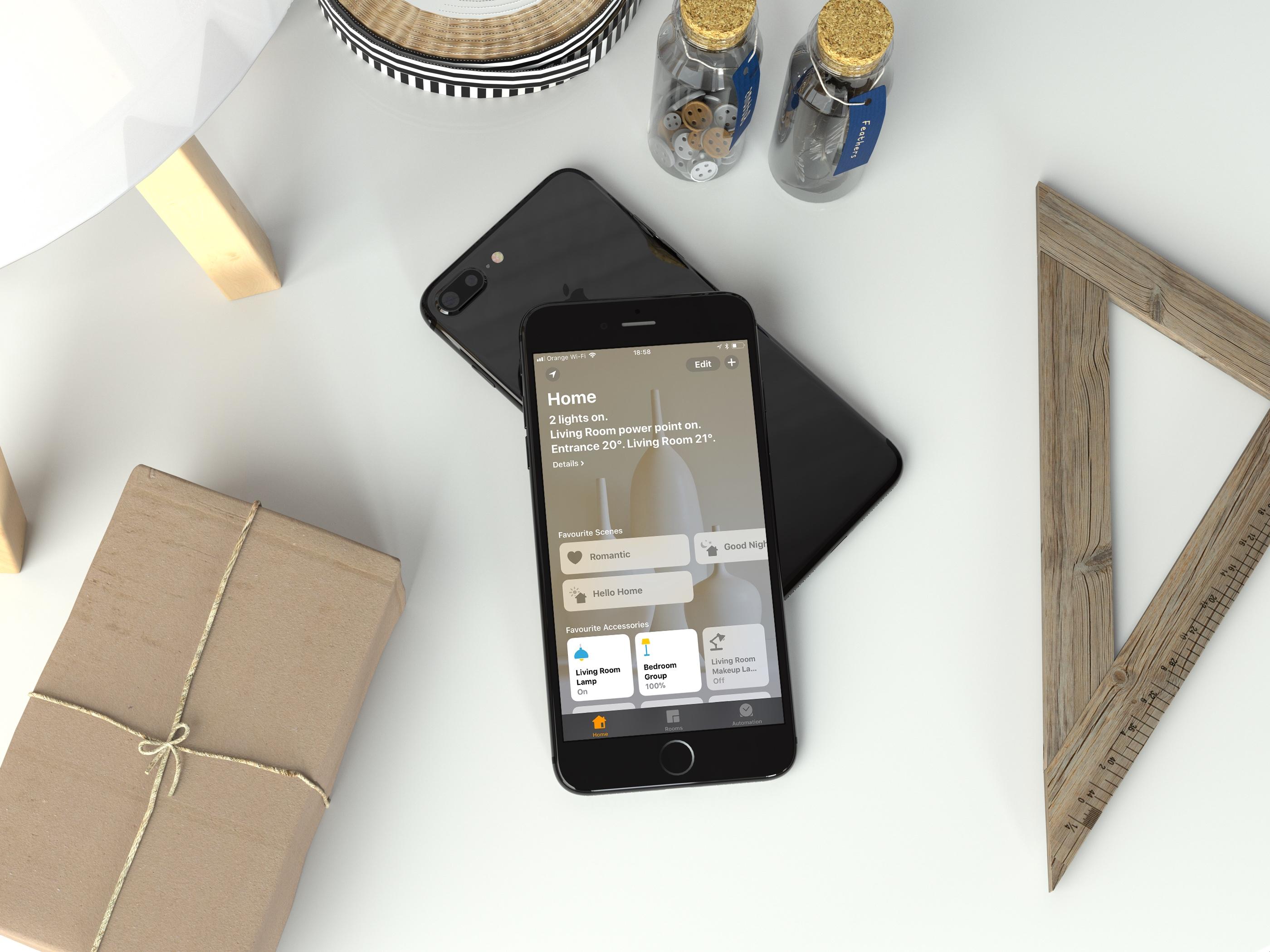 Minimalistic design - Apple Home app